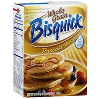 Bisquick Pancake Mix, Whole Grain Food Product Image