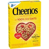 General Mills Cheerios Cereal Gluten Free Food Product Image