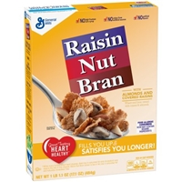 General Mills Raisin Nut Bran Cereal Food Product Image