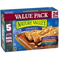 Nature Valley Crunchy Granola Bars Variety Pack - 12 CT Food Product Image