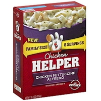 Chicken Helper Chicken Fettuccine Alfredo Family Size Food Product Image