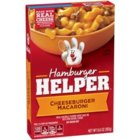 Hamburger Helper Cheeseburger Macaroni Food Product Image