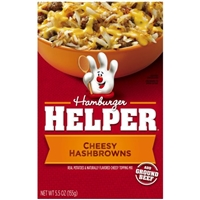 Hamburger Helper Cheesy Hashbrowns Food Product Image