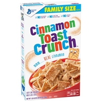 Cinnamon Toast Crunch Cereal Food Product Image