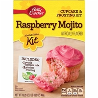Betty Crocker Raspberry Mojito Cupcake & Frosting Kit Food Product Image