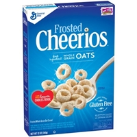 General Mills Frosted Cheerios Cereal Gluten Free Food Product Image