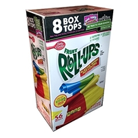Betty Crocker Betty Crocker, Fruit Roll-Ups, Fruit Snacks, Blastin' Berry Hot Colors Food Product Image