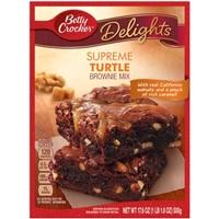 Betty Crocker Supreme Brownie Mix Turtle Food Product Image