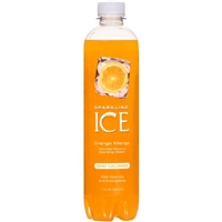 Sparkling Ice Naturally Flavored Sparkling Water Orange Mango Food Product Image