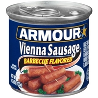 Armour Barbecue Flavored Vienna Sausage Product Image