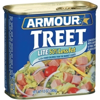 Armour Treet Lite Luncheon Loaf With Chicken and Pork Added