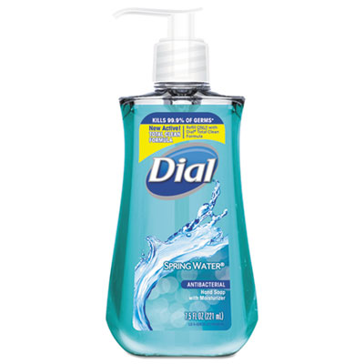 Dial Antibacterial Hand Soap Spring Water Food Product Image
