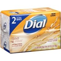 Dial Gold Antibacterial Deodorant Bar Soap Food Product Image