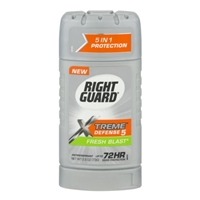 Right Guard Total Defense 5 Antiperspirant & Deodorant Solid Fresh Blast Food Product Image