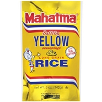 Mahatma Saffron Yellow Rice Food Product Image