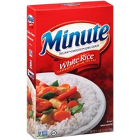 Minute Rice Instant Long Grain White Rice Food Product Image