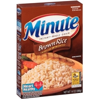 Minute Brown Rice Food Product Image