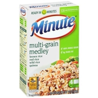 Minute Multi-Grain Medley Brown Rice Red Rice Wild Rice Quinoa - 4 Ct Food Product Image