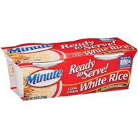 Minute Ready To Serve! White Rice Long Grain - 2 Ct Food Product Image
