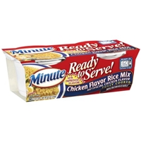 Minute Ready to Serve! Chicken Flavor Rice Mix  - 2 CT Food Product Image