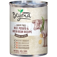 Purina Beyond Grain Free Ground Entree Dog Food Beef, Potato & Green Bean Recipe Food Product Image