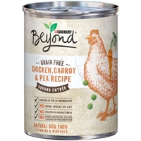 Purina Beyond Grain Free Ground Entree Dog Food Chicken, Carrot & Pea Recipe Food Product Image