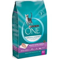 Purina One Smartblend Cat Food Healthy Kitten Formula Food Product Image
