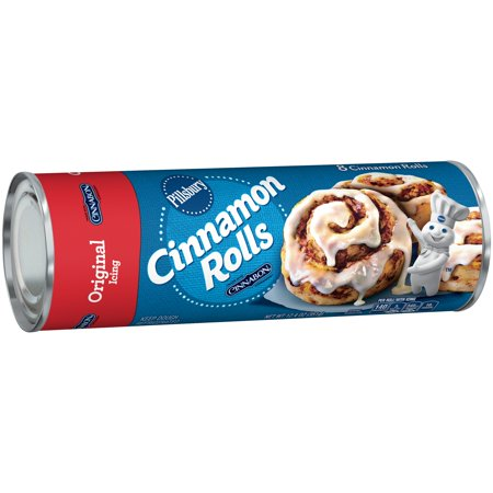 Pillsbury Cinnamon Rolls Original Icing Food Product Image