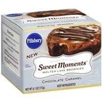 Sweet Moments Brownies Chocolate Caramel Food Product Image