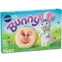 Pillsbury Ready To Bake! Bunny Shape Sugar Pre-Cut Cookies - 24 CT Product Image