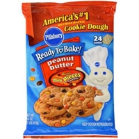 Pillsbury Reese's Pieces Peanut Butter Cookie Dough Product Image