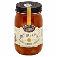 Brownwood Farms Michigan Apple Pie Filling & Topping Food Product Image