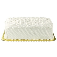 Wegmans Frozen Cakes & Pies 1/4 Sheet, Ultimate Chocolate Cake With Vanilla Premium Buttercreme Food Product Image