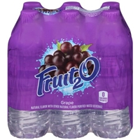 Fruit2O Natural Flavor Water Beverage Grape - 6 CT Food Product Image