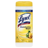 Lysol Disinfecting Wipes Lemon & Lime Blossom Scent - 35 CT Food Product Image