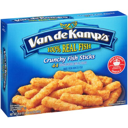 Van de Kamp's Crunchy Fish Sticks - 44 CT Food Product Image