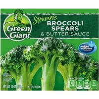 Green Giant Broccoli Spears & Butter Sauce Food Product Image