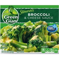Green Giant Steamers Broccoli & Cheese Sauce Food Product Image