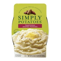 Simply Potatoes Traditional Mashed Potatoes Food Product Image