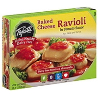 Tofutti Ravioli Baked Cheese, In Tomato Sauce Food Product Image