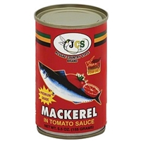 Jcs Mackerel In Tomato Sauce Food Product Image