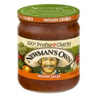 Newman's Own Medium Salsa Food Product Image