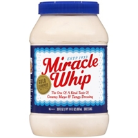Kraft Miracle Whip Dressing Original Food Product Image
