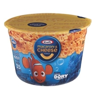 Kraft Macaroni & Cheese Cup Disney Finding Dory Food Product Image