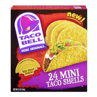 Taco Bell Home Originals Mini Taco Shells - 24 CT Food Product Image