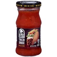 Taco Bell Medium Taco Sauce Food Product Image