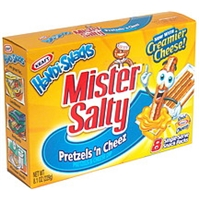 Handi-Snacks Mister Salty Pretzels N Cheez Pretzels And Cheese Dip Food Product Image