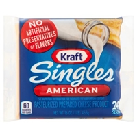 Kraft Singles American - 24 CT Food Product Image
