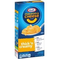 Kraft Macaroni & Cheese Thick 'n Creamy Food Product Image