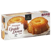 Safeway Select Cakes Upside Down, Pineapple Food Product Image